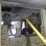 2009 příprava prostor Želechovice nad Dřevnicí
